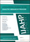 International Journal of the Analytic Hierarchy Process (IJAHP)
